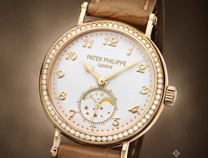 百达翡丽手表表带什么材质好